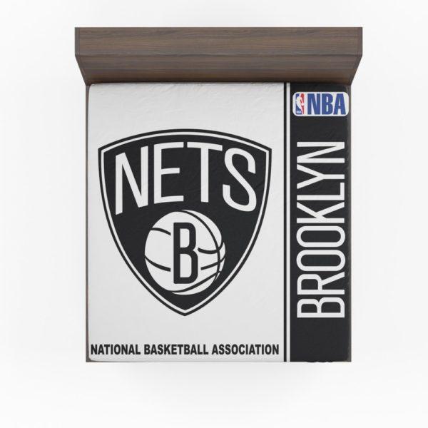 Brooklyn Nets NBA Basketball Fitted Sheet
