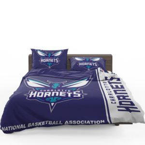 Charlotte Hornets NBA Basketball Bedding Set 1