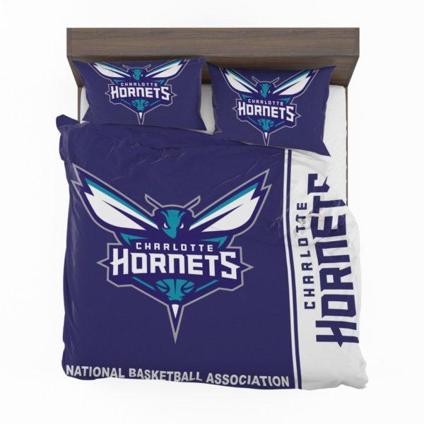 Charlotte Hornets NBA Basketball Bedding Set 2