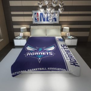 Charlotte Hornets NBA Basketball Duvet Cover 1