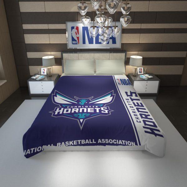 Charlotte Hornets NBA Basketball Duvet Cover 1