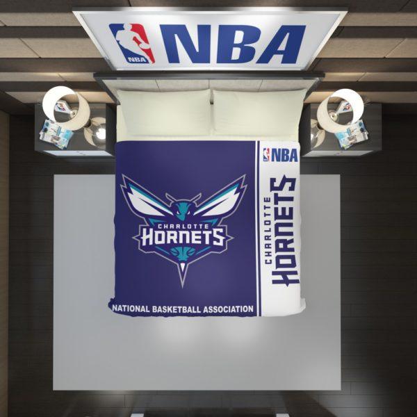 Charlotte Hornets NBA Basketball Duvet Cover 2