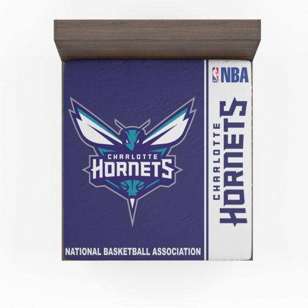 Charlotte Hornets NBA Basketball Fitted Sheet