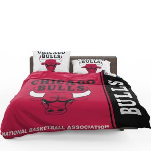 Chicago Bulls NBA Basketball Bedding Set 1