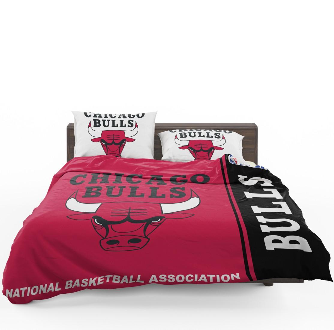 Chicago Bulls Nba Basketball Bedding Set Ebeddingsets