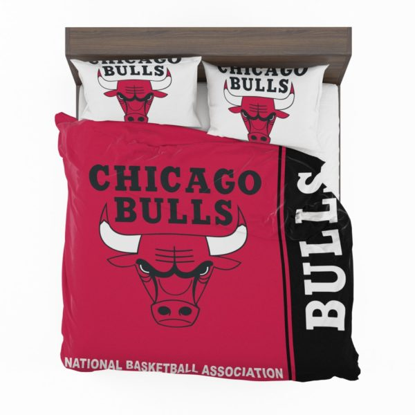 Chicago Bulls NBA Basketball Bedding Set 2