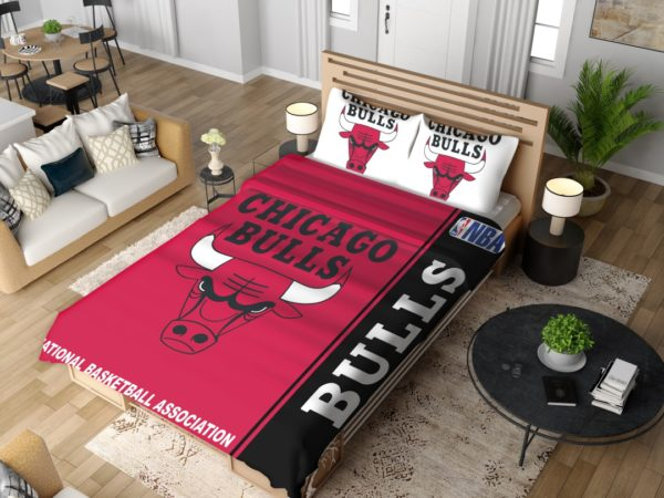 Chicago Bulls NBA Basketball Bedding Set 4