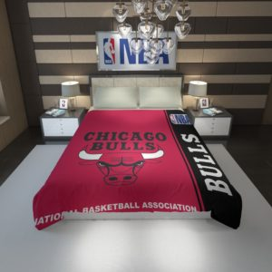 Chicago Bulls NBA Basketball Duvet Cover 1