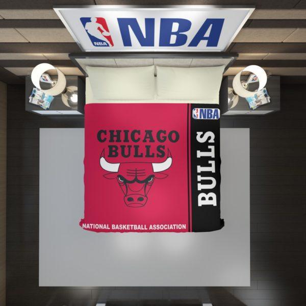 Chicago Bulls NBA Basketball Duvet Cover 2