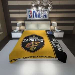 Cleveland Cavaliers NBA Basketball Duvet Cover 1
