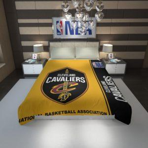 Cleveland Cavaliers NBA Basketball Duvet Cover 1