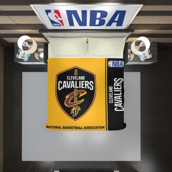 Cleveland Cavaliers NBA Basketball Duvet Cover 2