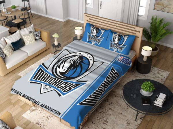 Dallas Mavericks NBA Basketball Bedding Set 4