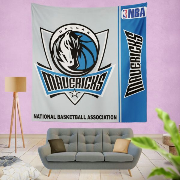 Dallas Mavericks NBA Basketball Bedroom Wall Hanging Tapestry