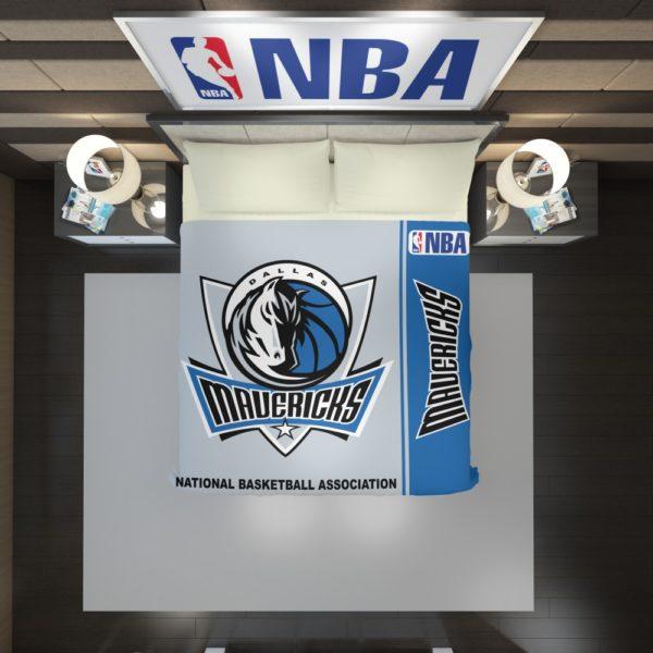 Dallas Mavericks NBA Basketball Duvet Cover 2
