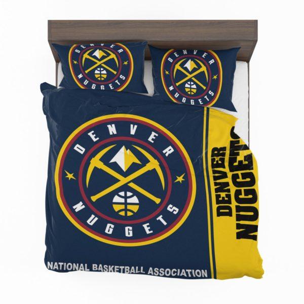 Denver Nuggets NBA Basketball Bedding Set 2