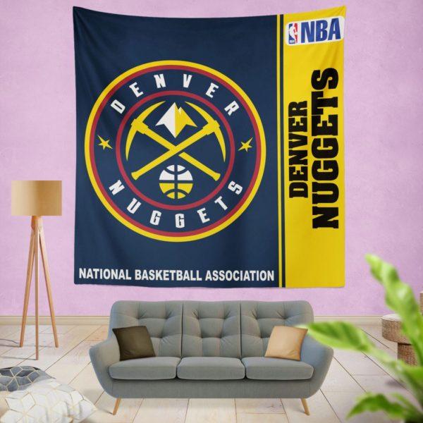 Denver Nuggets NBA Basketball Bedroom Wall Hanging Tapestry