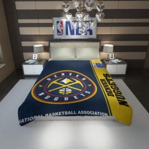 Denver Nuggets NBA Basketball Duvet Cover 1