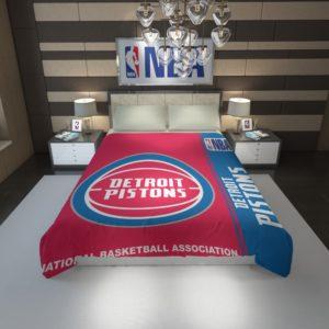 Detroit Pistons NBA Basketball Duvet Cover 1