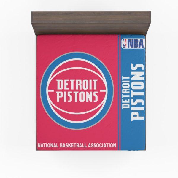 Detroit Pistons NBA Basketball Fitted Sheet