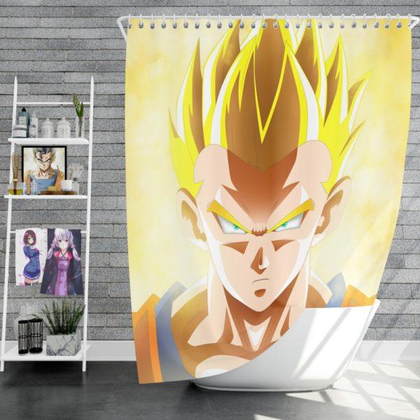 Dragon Ball Super Son Goku Anime Boy Shower Curtain