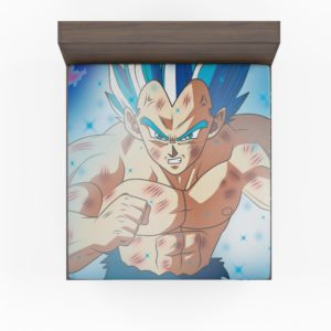 Dragon Ball Vegeta Anime Boy Fitted Sheet