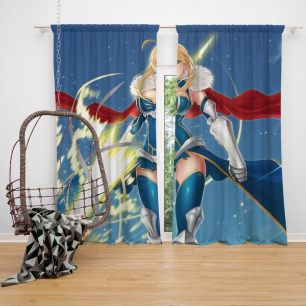 Fate Stay Night fate Grand Order Anime Bedroom Window Curtain