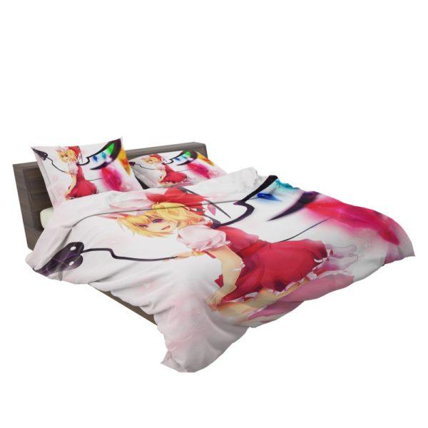 Flandre Scarlet Anime Girl Vampire Bedding Set 3