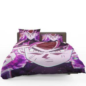 Goku Black Super Saiyan Rose Bedding Set 1