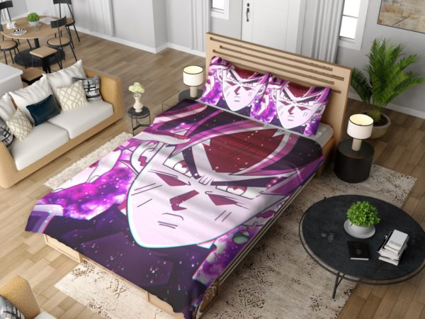 Goku Black Super Saiyan Rose Bedding Set 4