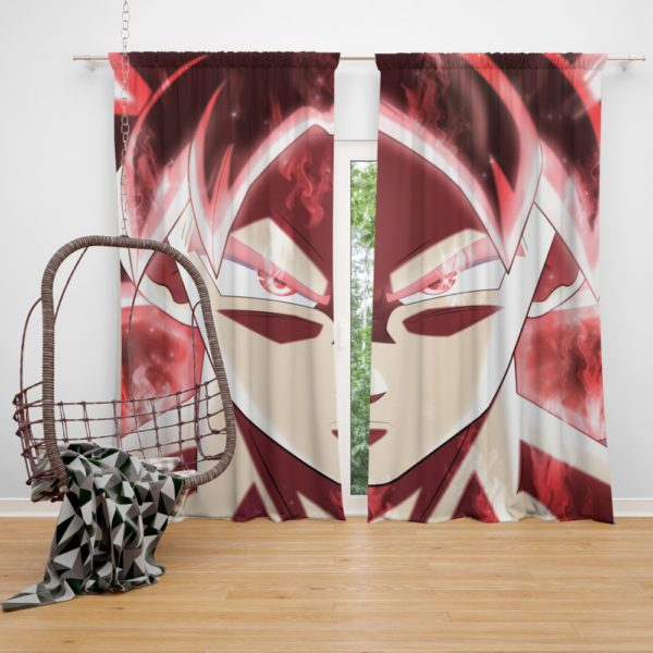 Goku Dragon Ball Super Japanese Anime Bedroom Window Curtain