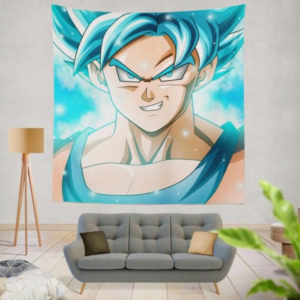 Goku Japanes Super Hero Wall Hanging Tapestry