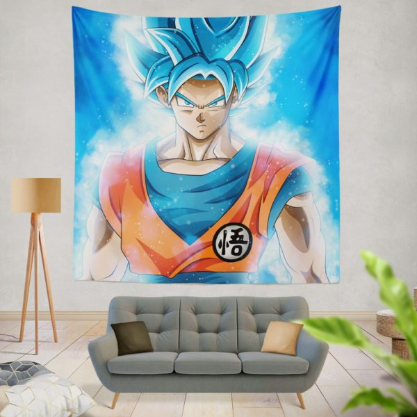 Goku Japanese Hero Anime Wall Hanging Tapestry