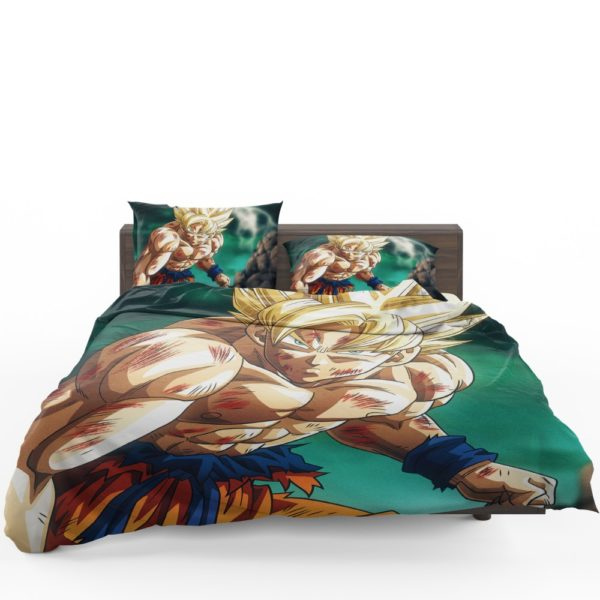 Goku Super Saiyan Dragon Ball Anime Bedding Set 1