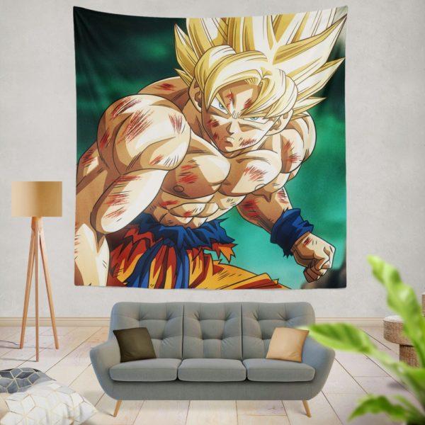 Goku Super Saiyan Dragon Ball Anime Wall Hanging Tapestry
