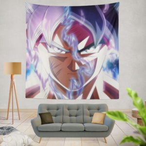 Goku Ultra Instinct Dragon Ball Super Wall Hanging Tapestry