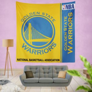 Golden State Warriors NBA Basketball Bedroom Wall Hanging Tapestry