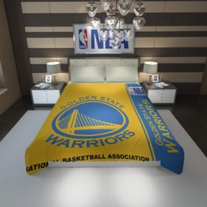 Golden State Warriors NBA Basketball Duvet Cover 1
