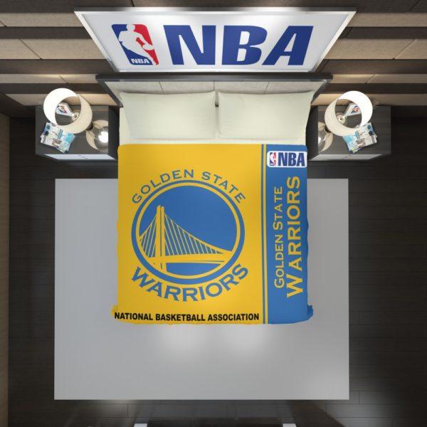 Golden State Warriors NBA Basketball Duvet Cover 2