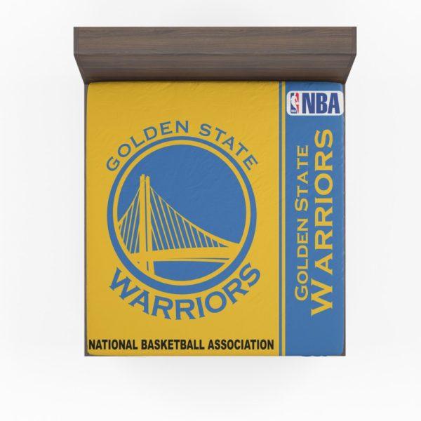 Golden State Warriors NBA Basketball Fitted Sheet