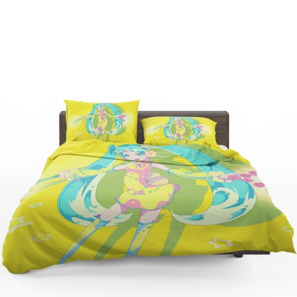 Hatsune Miku Vocaloid Japanese Anime Bedding Set 1