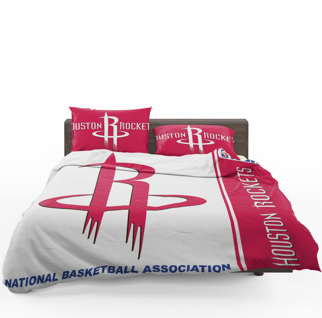 Houston Rockets Nba Basketball Bedding Set 1