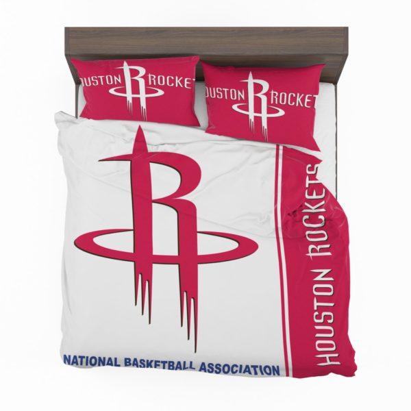 Houston Rockets NBA Basketball Bedding Set 2