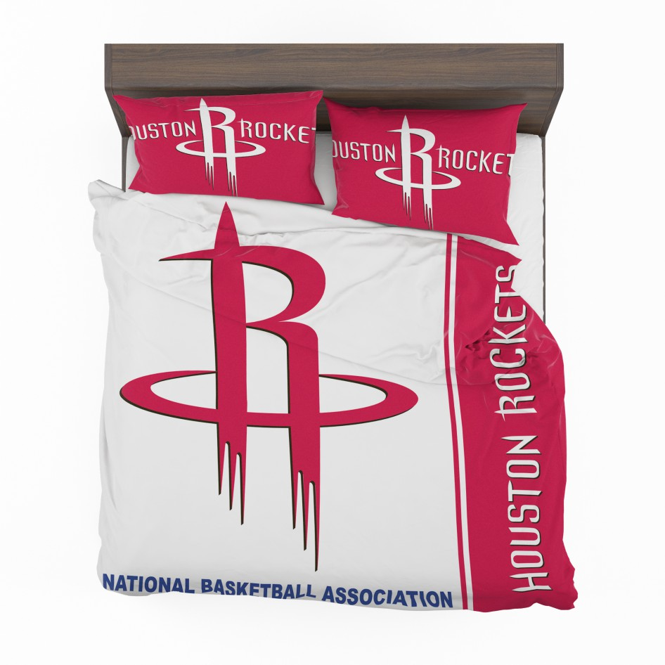 Houston Rockets Nba Basketball Bedding Set 2