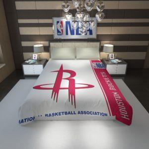 Houston Rockets NBA Basketball Duvet Cover 1