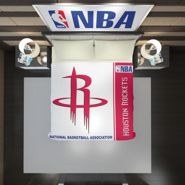 Houston Rockets NBA Basketball Duvet Cover 2
