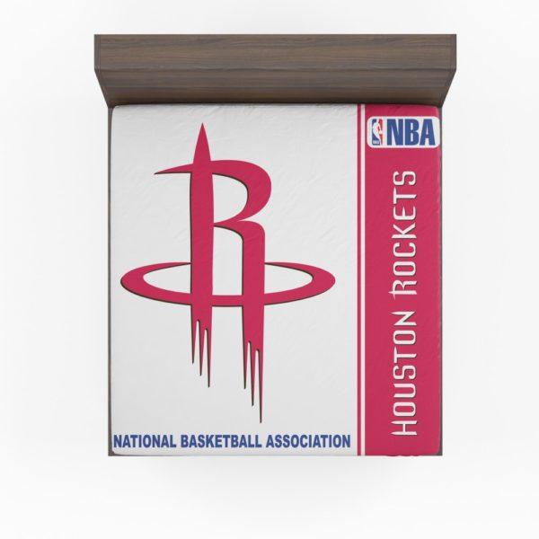 Houston Rockets NBA Basketball Fitted Sheet