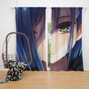 Ichigo Darling In The Franxx Bedroom Window Curtain