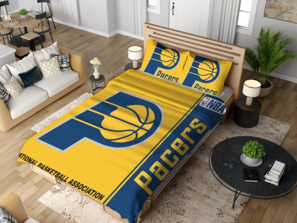 Indiana Pacers NBA Basketball Bedding Set 4