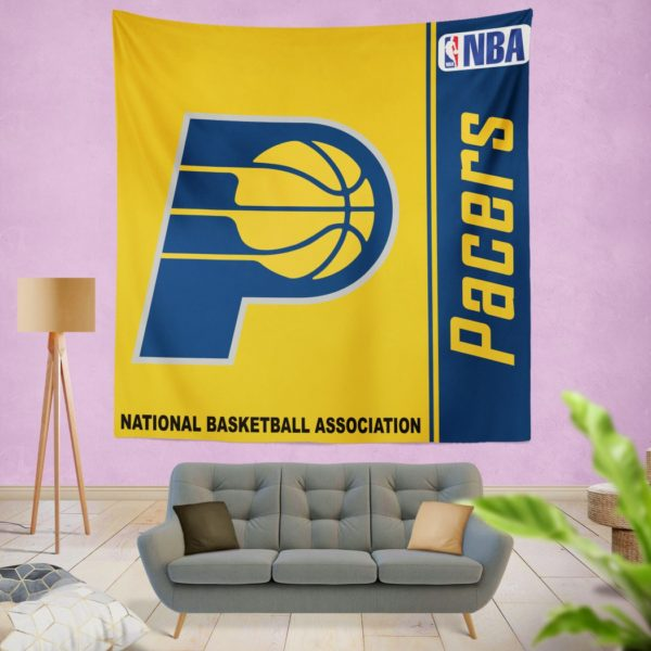 Indiana Pacers NBA Basketball Bedroom Wall Hanging Tapestry